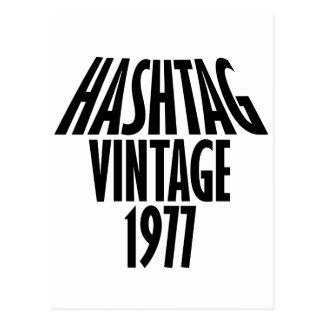 cool vintage 1976 designs postcard