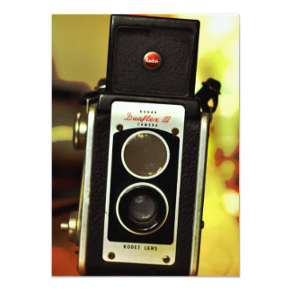 Cool Vintage Antique Camera Card