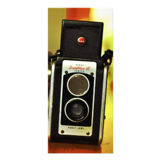 Cool Vintage Antique Camera Custom Rack Card