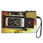 Cool Vintage Antique Camera Wristlet Purses