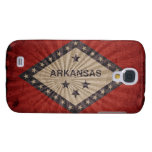 Cool Vintage Arkansas Flag Samsung Galaxy S4 Case