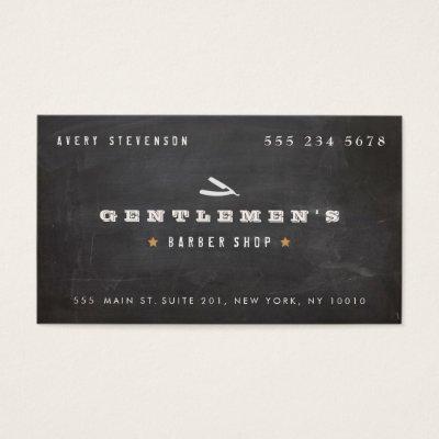 Straight razor on barber shop business cards zazzle colourmoves