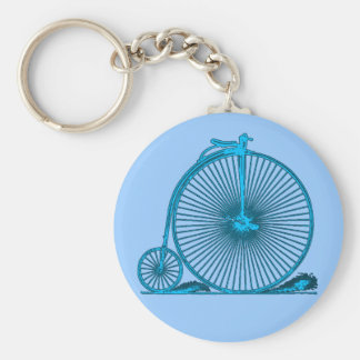 Cool Vintage Bicycle Illustration Products Key Chains