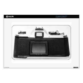 """Cool Vintage Camera Back Photo Image Design 15"""" Laptop Skins"""