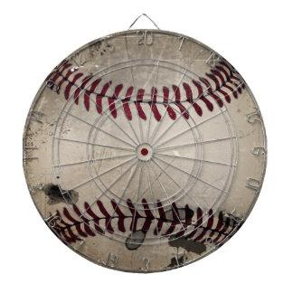 Cool Vintage Grunge Baseball Dart Boards