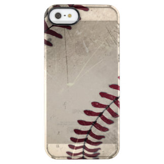 Cool Vintage Grunge Baseball Uncommon Clearly™ Deflector iPhone 5 Case