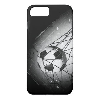 Cool Vintage Grunge Football in Goal iPhone 7 Plus Case