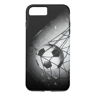 Cool Vintage Grunge Football in Goal iPhone 8 Plus/7 Plus Case