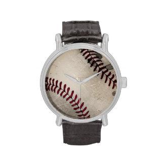 Cool Vintage Grunge Grungy Baseball Wristwatch