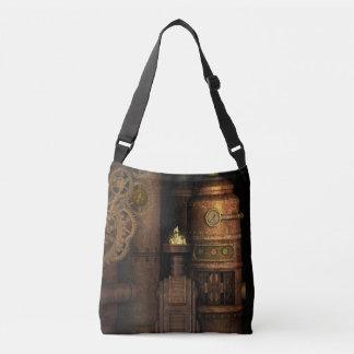 Cool Vintage Grungy Industrial Steampunk Crossbody Bag