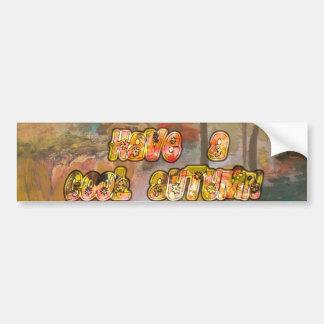 Cool vintage Hakuna Matata Customize Product Bumper Sticker
