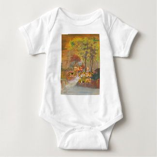 Cool vintage Hakuna Matata Have a cool Autum Seaso Baby Bodysuit