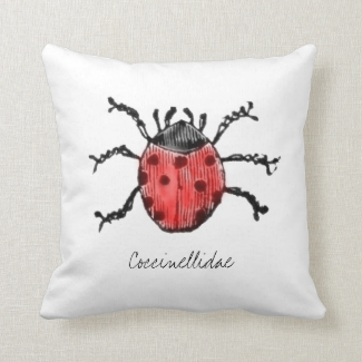 Cool Vintage Ladybug Illustration