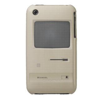 Cool Vintage Retro Geek PC Computer iPhone 3 Case