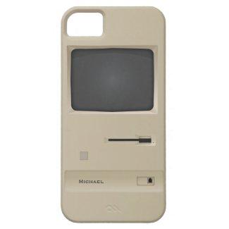 Cool Vintage Retro Geek PC Computer iPhone 5 Case