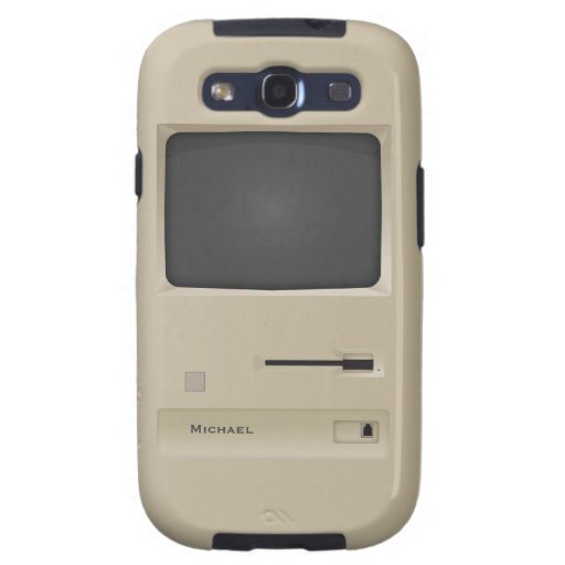 Cooling Case For Samsung Galaxy S3 : Cool vintage retro pc computer samsung s galaxy siii