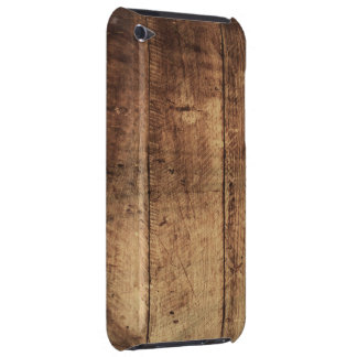 cool vintage scratched wood texture Case-Mate iPod touch case