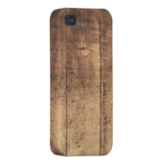cool vintage scratched wood texture iPhone 4/4S case