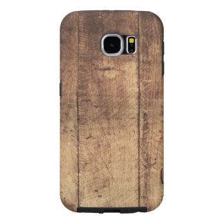 cool vintage scratched wood texture samsung galaxy s6 cases