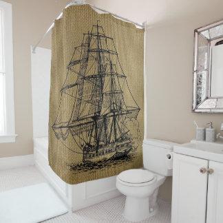 Burlap Shower Curtains   Zazzle