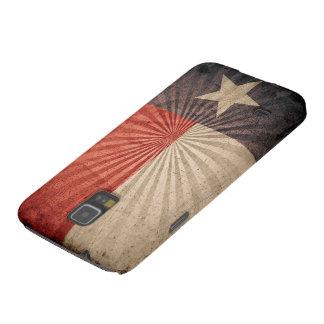 Cool Vintage Texas Flag Galaxy S5 Case