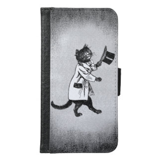 Cool Vintage Top Hat Cat Grungy Samsung Case