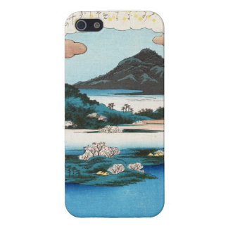 Cool vintage ukiyo-e japanese waterscape mountain case for iPhone SE/5/5s