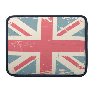 Cool Vintage Union Jack Sleeve For MacBooks