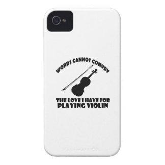 cool Violinist designs iPhone 4 Case-Mate Cases