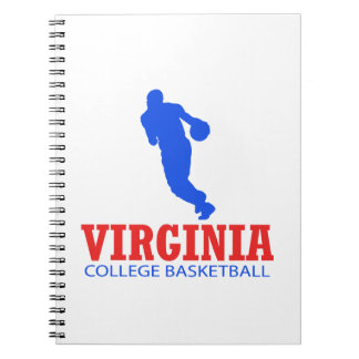 cool Virginia basketball DESIGNS Notebook