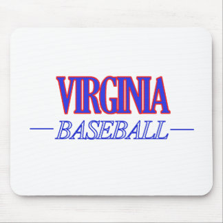 cool VIRGINIA state baseball DESIGNS Mouse Pad