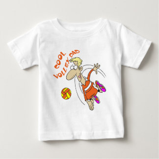 COOL VOLLEY DAD BABY T-Shirt