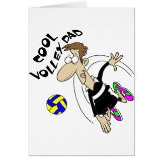 COOL VOLLEY DAD CARD