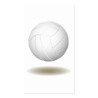 Cool Volleyball Emblem 1 Business Card Templates
