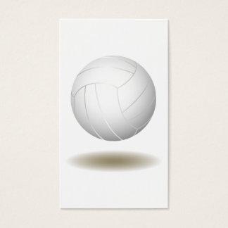Cool Volleyball  Emblem 1 Business Card