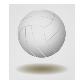 Cool Volleyball  Emblem 1 Posters