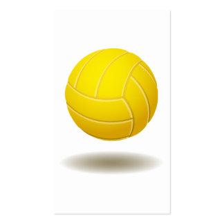 Cool Volleyball Emblem 2 Business Card Templates
