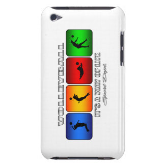 Cool Volleyball It Is A Way Of Life Barely There iPod Case