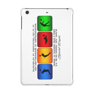 Cool Volleyball It Is A Way Of Life iPad Mini Retina Case