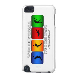 Cool Volleyball It Is A Way Of Life iPod Touch 5G Case