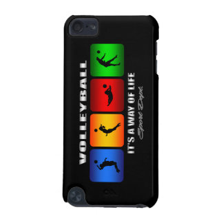 Cool Volleyball It Is A Way Of Life iPod Touch 5G Cover