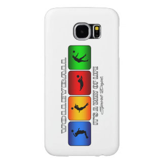 Cool Volleyball It Is A Way Of Life Samsung Galaxy S6 Case