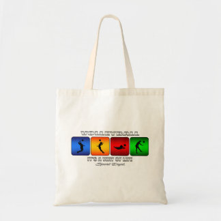 Cool Volleyball It Is A Way Of Life Tote Bag