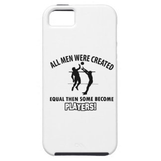 cool volleyball player design iPhone SE/5/5s case