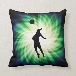 Cool Volleyball Throw Pillow