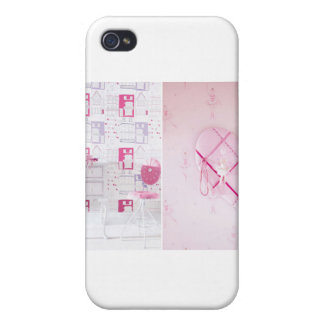 Cool-Wallpaper-With-Cute-Patterns-For-Teen-Girls-B iPhone 4 Cover