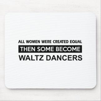 Cool Waltz dancer designs Mouse Pad
