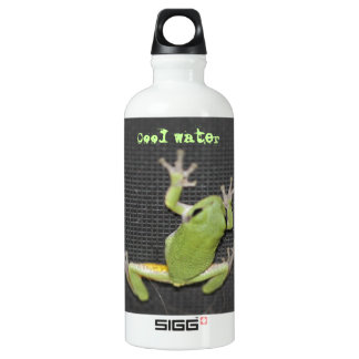 Cool Water Green Frog Water Bottle