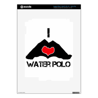 cool water-polo DESIGNS iPad 3 Decal