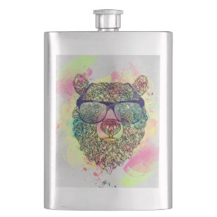 Funny Bear Flasks Zazzle